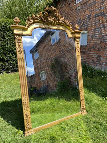 French Antique Gilt Mirror (1 of 4)