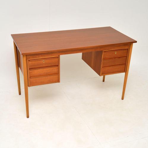 Danish Teak Desk Vintage 1960's (1 of 10)