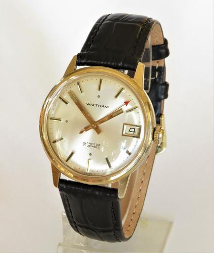 Gents 1960s Waltham Wrist Watch (1 of 4)
