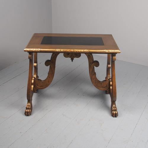 Antique Spanish Style Gilded Side Table by Whytock & Reid (1 of 14)