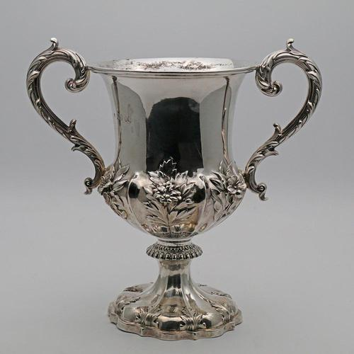 William IV Large Two Handled Silver Cup (1 of 3)