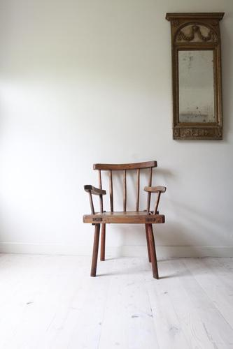 19th Century Irish 'Country / Vernacular' Hedge Chair from Co. Antrim (1 of 45)