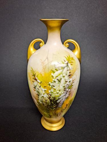 Rare Royal Worcester Vase (1 of 5)