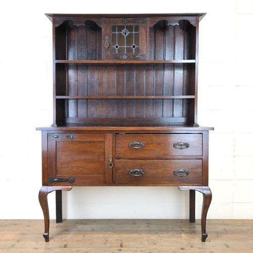 Early 20th Century Oak Dresser (1 of 9)