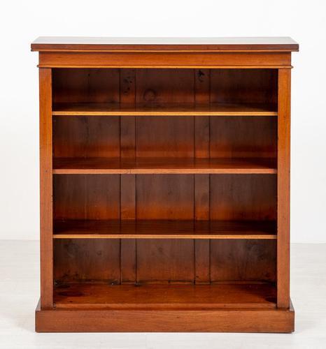 Useful Victorian Mahogany Open Bookcase (1 of 6)