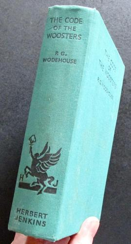 1938 1st Edition   The Code of The Woosters by  P G Wodehouse (1 of 4)