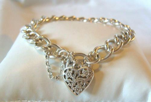 Vintage Sterling 925 Bracelet 7 12/' length--Beautiful Bracelet