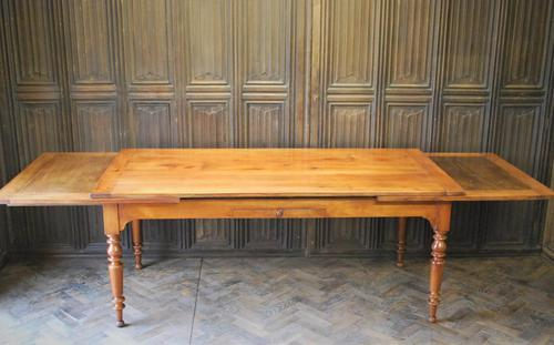 Large Extending Cherrywood Farmhouse Table (1 of 12)