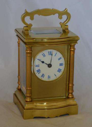 Carriage Clock with Convex Case Mouldings (1 of 5)