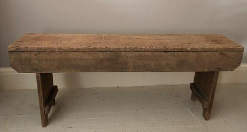Rustic Low Bench (1 of 4)