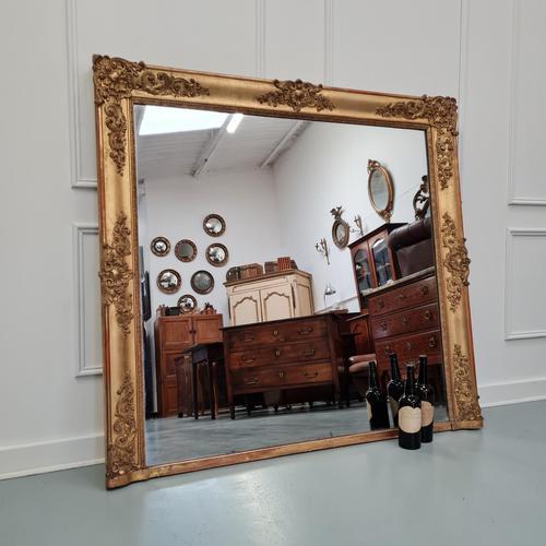 Antique Large Regency Mirror (1 of 9)