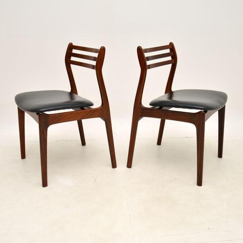 Pair of Danish Rosewood Chairs by P.E. Jørgensen for Farso Stolefabrik (1 of 12)