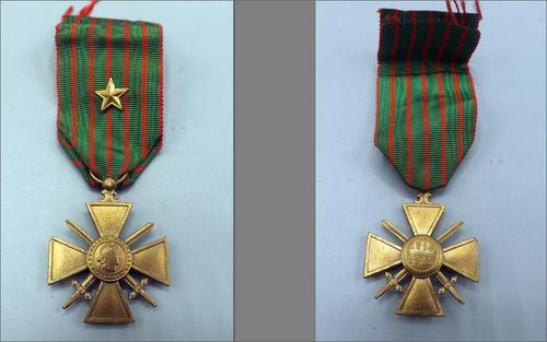 French WW1 Croix DE Guerre - 1915 (1 of 4)