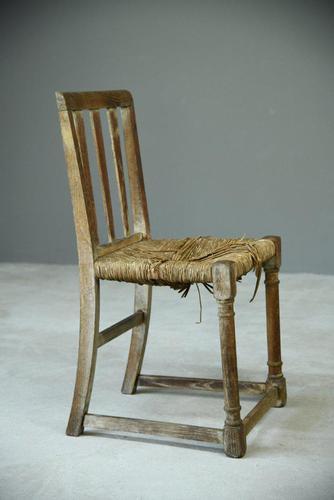 Oak Arts & Crafts Chair (1 of 9)