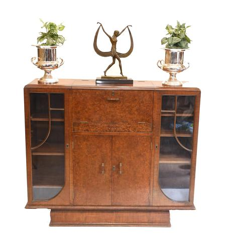 Vintage Art Deco Drinks Cabinet 1930s Furniture (1 of 10)