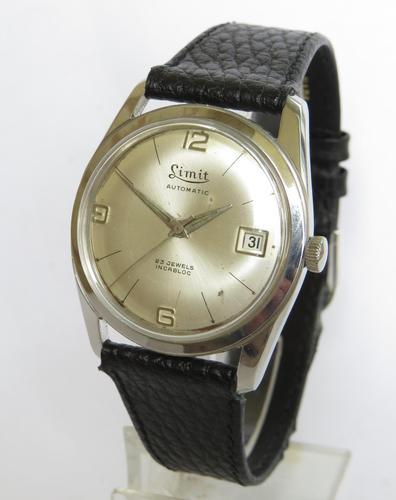 Gents 1960s Limit Wrist Watch (1 of 4)