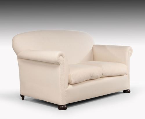 Attractive Early 20th Century Two Seater Sofa (1 of 4)