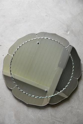 Vintage Round Wall Mirror (1 of 10)
