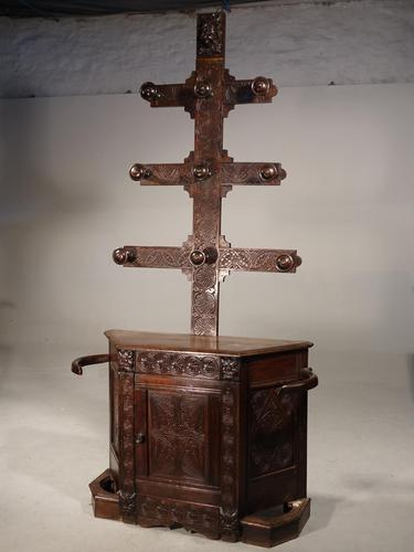 Remarkable Mid 19th Century Hat & Hall Stand (1 of 5)