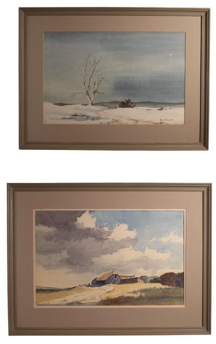Pair of Landscapes (1 of 7)