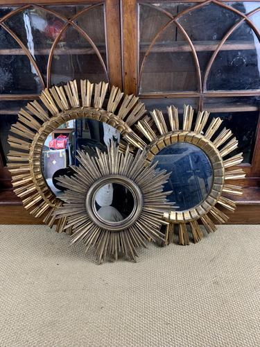 Trio of Spanish Giltwood Wall Mirrors (1 of 7)
