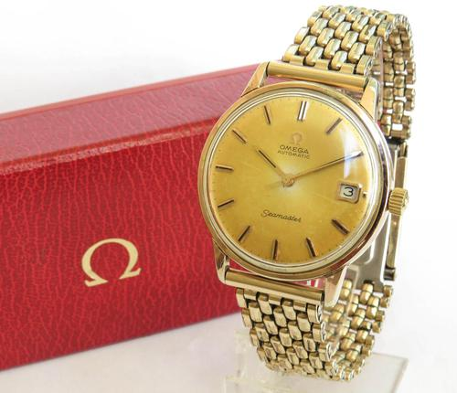 Gents 1966 Omega Seamaster Wrist Watch (1 of 6)
