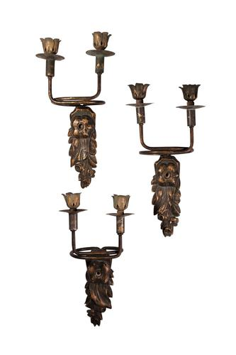 Three Wall Sconces (1 of 3)