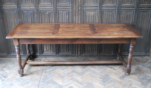 French Oak Kitchen Farmhouse Table (1 of 9)