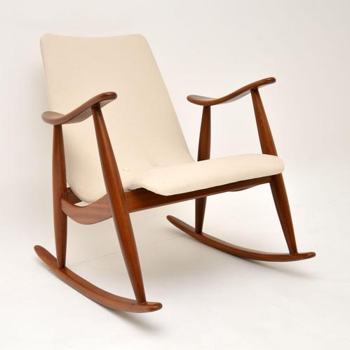 1960's Dutch Rocking Chair by Louis Van Teeffelen (1 of 10)