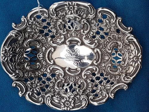Sterling Silver Pin Dish (1 of 3)