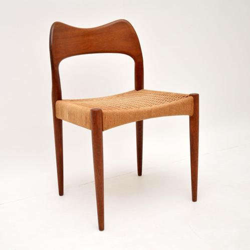 Danish Teak Vintage Chair by Arne Hovmand-Olsen for Mogens Kold (1 of 10)