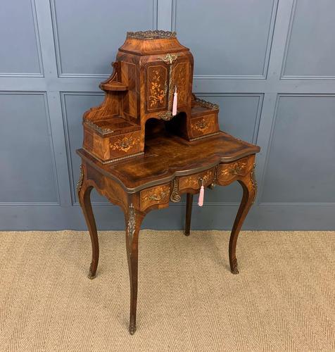 19th Century Inlaid Kingwood Bonheur Du Jour (1 of 18)