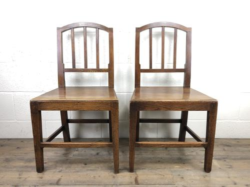 Pair of 19th Century Oak Farmhouse Chairs (1 of 13)