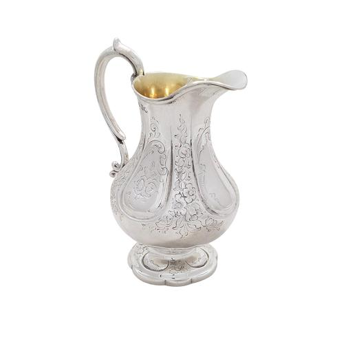 Antique Victorian Sterling Silver Jug 1854 (1 of 9)
