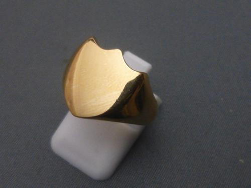 Gentlemans 9ct Gold Signet Ring (1 of 6)