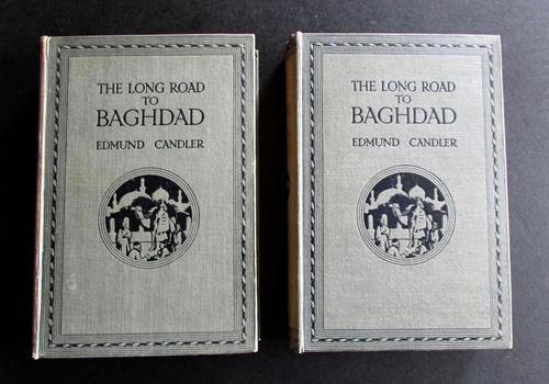 1919 The Long Road to Baghdad by Edmund Candler -Complete in 2 Volumes (1 of 5)