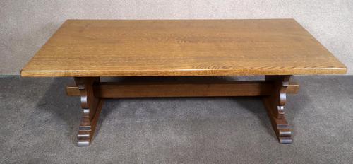 Large Oak Coffee Table (1 of 7)