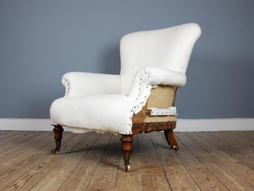 19th Century English Country House Armchair (1 of 7)