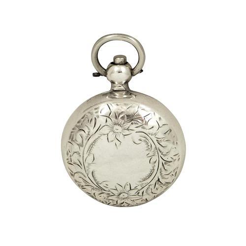 Antique Edwardian Sterling  Silver Sovereign Case 1907 (1 of 10)