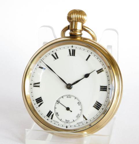 1930s Tacy Raob Pocket Watch (1 of 4)