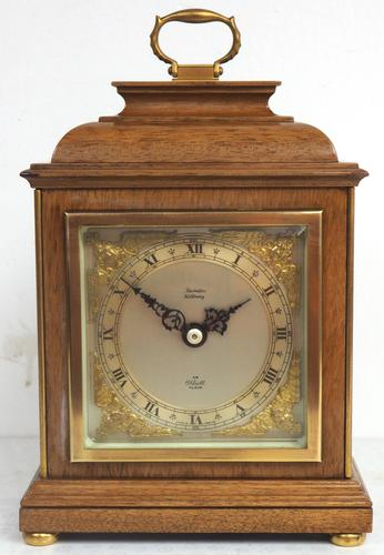 Perfect Vintage Mantel Clock Caddy Top Bracket Clock by Elliott of London Retailed by Thornton Kettering (1 of 9)