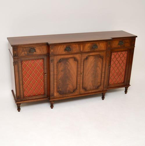 Regency Style Mahogany Grill Front Sideboard (1 of 12)
