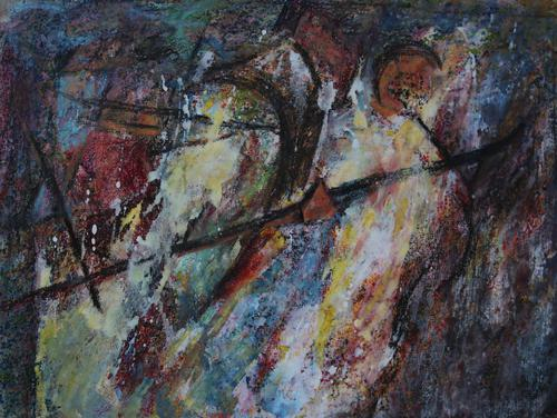 Abstract figure by Barbara Doyle (1 of 6)