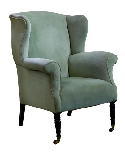 19th Century Wing Armchair c.1880 (1 of 5)