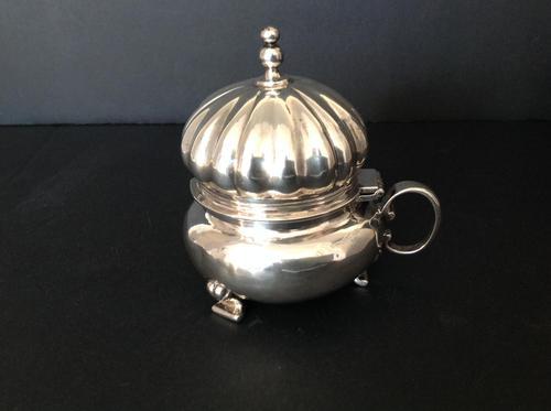 Duchess of Sutherland Edwardian Silver Mustard Pot - 1910 (1 of 6)