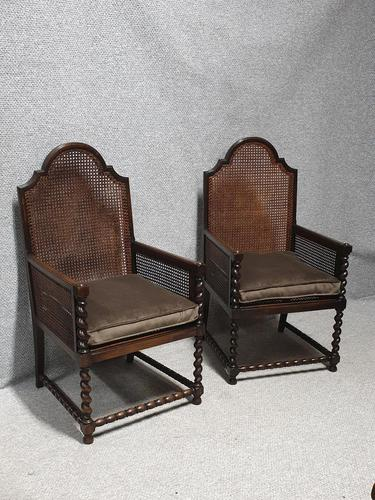 Pair of Bergere Armchairs (1 of 7)