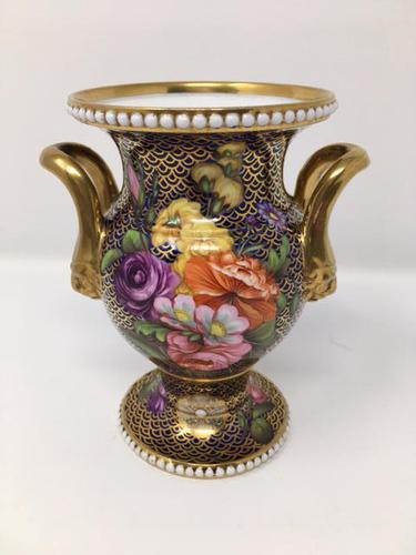 Stunning Antique Spode Vase Pattern 1166 c.1820 (1 of 14)