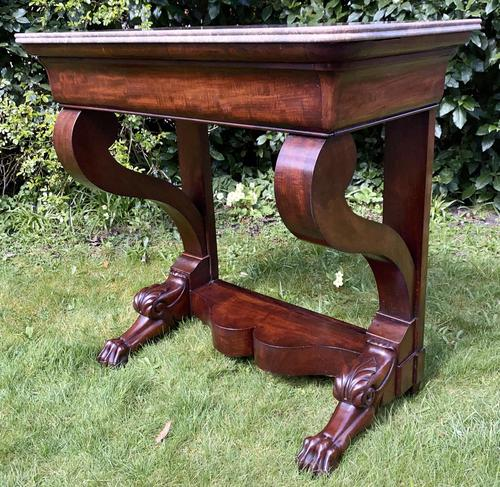 French Louis Philippe Console Table (1 of 7)