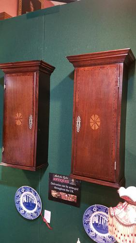 Pair of 18th Century Country Made Wall Cupboards (1 of 6)