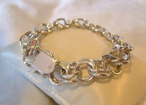 "Vintage Sterling Silver Bracelet 1950s Forstner Usa 7 1/2"" Length 38.2 Grams (1 of 11)"